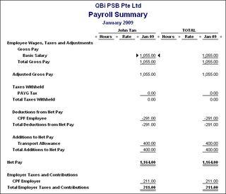 QuickBooks Payroll reports - QuickBooks Asia