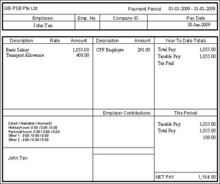 Exceptional Print Pay Slip From QuickBooks. 2009_0825_01_payslip  Payment Slips