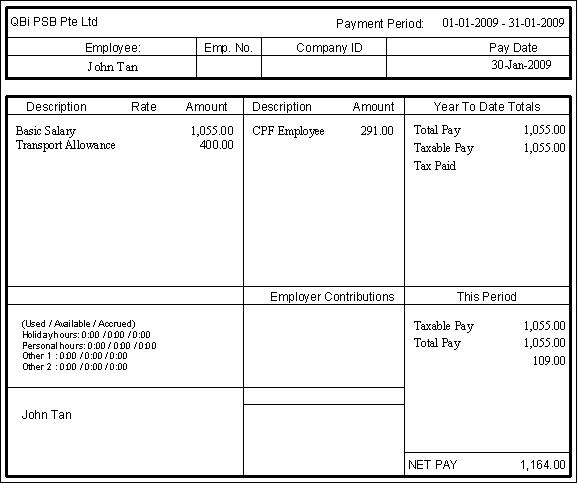 Print pay slip from quickbooks ledgerblog maxwellsz