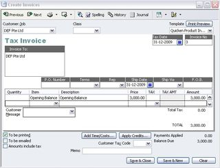 How To Create Opening Balances For Accounts Receivable QuickBooks - Quickbooks invoice accounts receivable